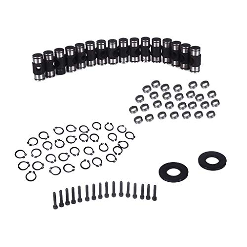 Flameer Auto Car Engine Rocker Arm Trunion Kit with Big Clip for 5.3L 6.0L 6.2L 7.0L LS1 LS3 by Flameer (Image #8)