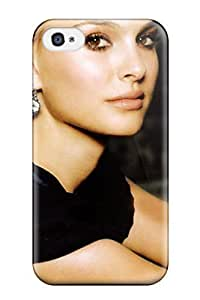 High Quality Shock Absorbing Case For Iphone 4/4s-natalie Portman