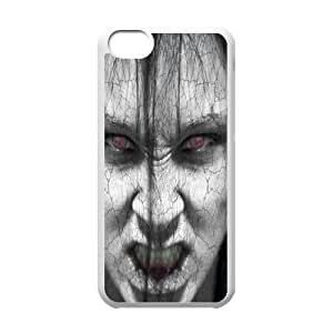 Iphone 5C Screaming Phone Back Case Personalized Art Print Design Hard Shell Protection YG084342