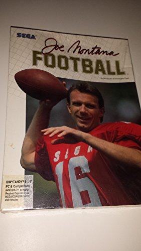 Joe Montana Football IBM Tandy PC DOS