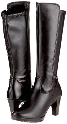 Black Women's Tamaris High 25548 black 21 1 Boots xXFTXrdq