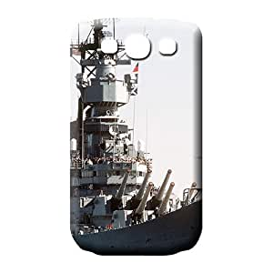 samsung galaxy s3 mobile phone shells Plastic Attractive Snap On Hard Cases Covers battleship 'uss iowa'