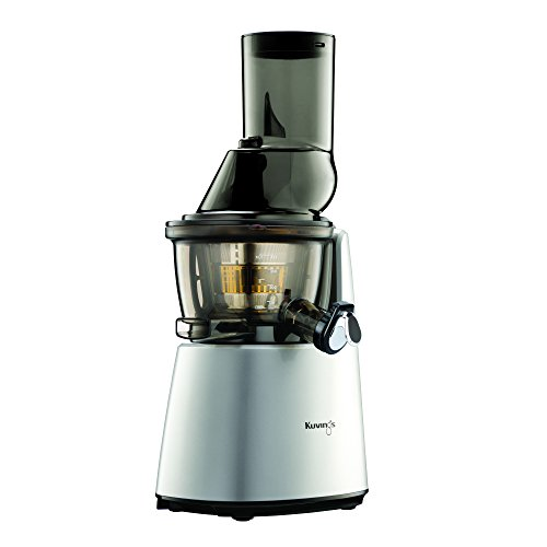 Kuvings Whole Slow Juicer C7000S - Higher Nutrients and Vitamins, BPA-Free Components, Easy to Clean, Ultra Efficient 240W, 60RPMs, Includes Smoothie and Blank Strainer-Silver