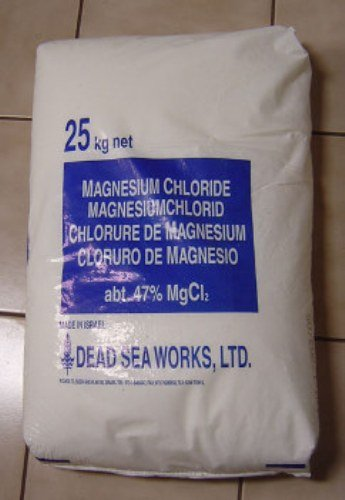 Cloruro de magnesio Hexahydrate Flake MgCl2 E511 Natural Dead Sea Salts Bath Soak Joint Dolor 25 kg: Amazon.es: Productos para mascotas