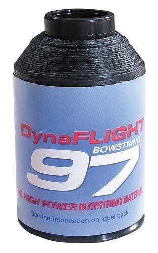 BCY DynaFlight String 1/4 lb Spool - Black