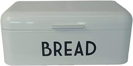 Dream-cool Contenedor de pan, caja de almacenamiento Caja de metal ...