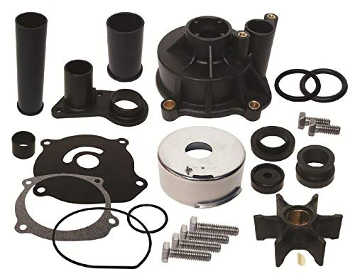 GLM Water Pump Kit for 1979 & Later Johnson Evinrude V4 & V6 85 115 125 140 150 225 235 Hp Replaces 434421, 5001595, 18-3315 Read Product Description for Exact Applications