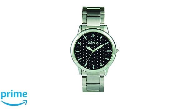 XTRESS Reloj Analógico para Hombre de Cuarzo con Correa en Acero Inoxidable XAA1032-20: Amazon.es: Relojes