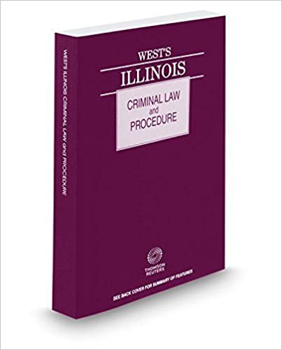Book West's? Illinois Criminal Law and Procedure, 2015 ed. by Thomson West (2015-03-06)