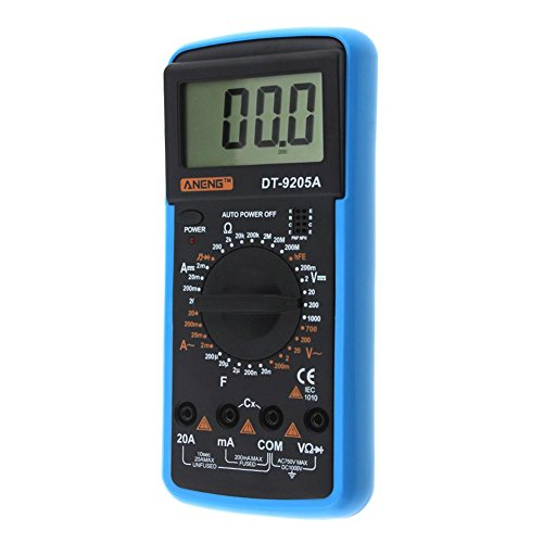Digital Multimeter DT-9205A AC DC LCD Display Professional Electric Handheld Tester Meter Multimetro Ammeter Multitester by UEB (Image #3)