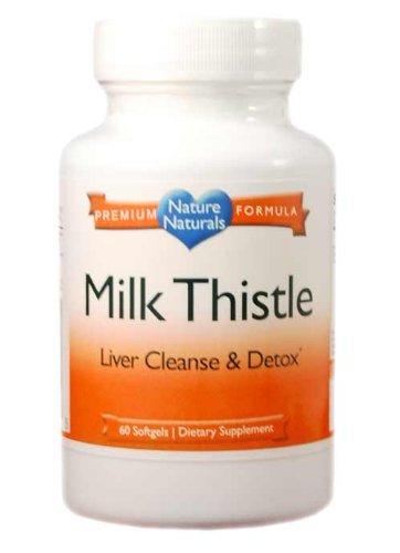 Chardon-marie, silymarine - Super High Potency - Rapide Milk Thistle absorbant pour le foie et la fonction rénale