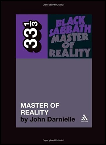Read Black Sabbath's Master of Reality (33 1/3) [Paperback] PDF, azw (Kindle), ePub, doc, mobi