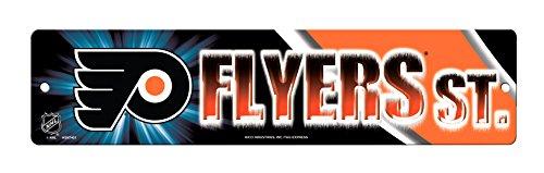 - Rico HSN7401 Plastic Street Sign , Philadelphia Flyers