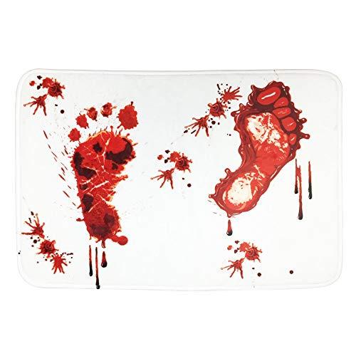 AOOK Homemade Bloody Shower Mat Bath Mat 23.5