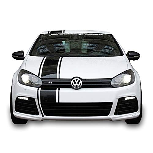 Bubbles Designs Full Stripe Kit Sticker Decal Graphic Compatible with VW Volkswagen Golf GTI MK6 6 A6