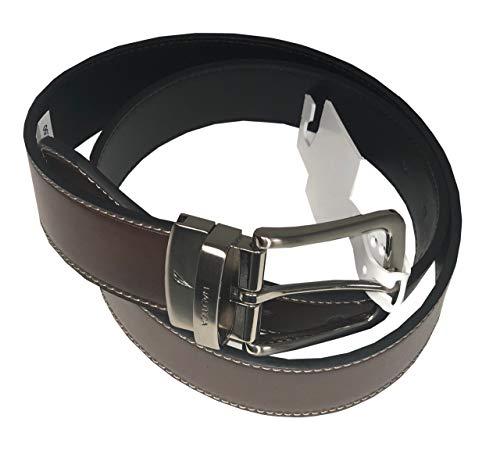 - Nautica Mens Reversible Belt (36, Black/brown)