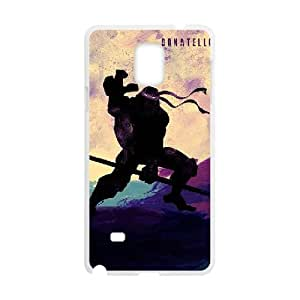 Samsung Galaxy Note 4 Case White Teenage Mutant Ninja Turtles Cell Phone Case Cover K8M3OM