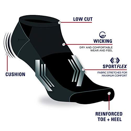 IZOD mens 10pk Athletic Lowcut Socks