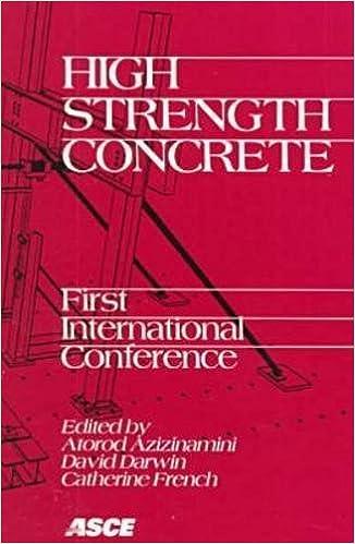 High Strength Concrete: First International Conference : Proceedings, July 13-18, 1997, Kona, Hawaii