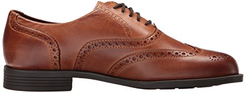 Cole Haan Mens Ross Dustin Wing Ox Oxford British Tan