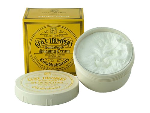 Trumper Almond Shaving Cream - Geo F. Trumper Sandalwood Shaving Cream Jar