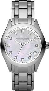 Michael Kors Mk5325 - Reloj de mujer de cuarzo, correa de acero inoxidable color plata