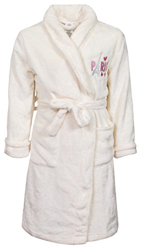 Sweet & Sassy Girls Coral Fleece Solid Robe (More Colors Available)