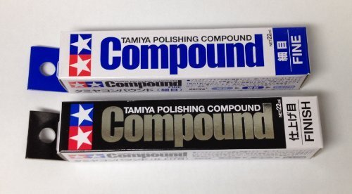 TAMIYA Polishing Compound Fine and Finish SET ()