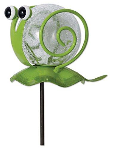 Snail Pot (Sunset Vista Designs Snail Pot Sticker Garden Art)