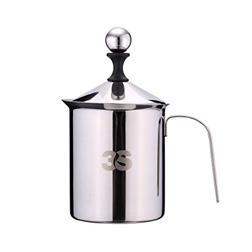 Stainless Frothing Pitcher Frother Creamer