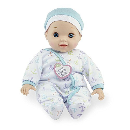 You & Me Chatter and Coo Baby Doll (Blue)
