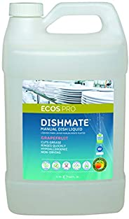 Earth Friendly Products Proline PL9722/04 Dishmate Grapefruit Ultra-Concentrated Liquid Dishwashing Cleaner, 1