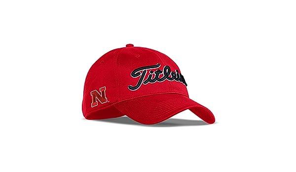 3d86b034 ... discount code for amazon titleist 2017 collegiate tour performance  adjustable hat cap nebraska clothing aca48 e8df9
