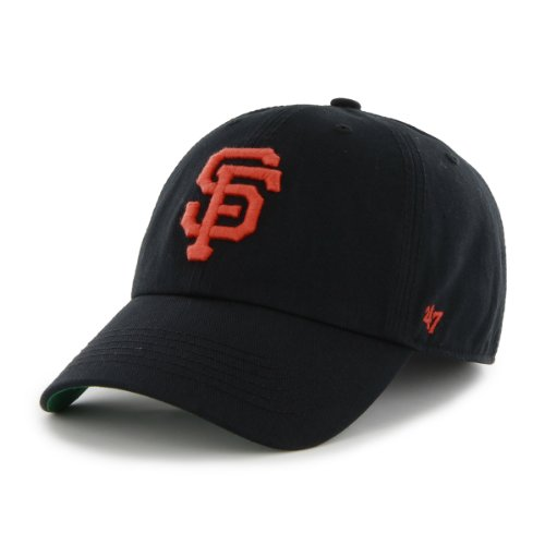 MLB San Francisco Giants '47 Franchise Fitted Hat, Black, Medium (Adult Hats)