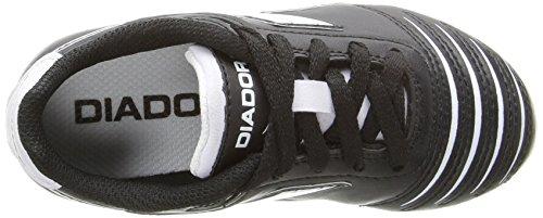 Diadora Kids' Cattura MD Jr Soccer Shoe, Black/White, 11 M US Little Kid by Diadora (Image #8)