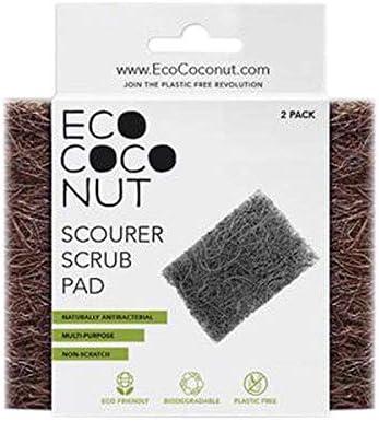 Eco Coconut Estropajo de Coco ecológico | 2 estropajos ecológicos ...