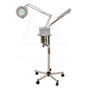 Ozone Facial Steamer & Mag Lamp Combo