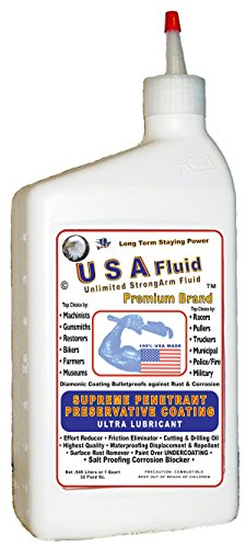 USA Fluid Surface Rust Remover Absolute Penetrant Corrosion Block Waterproofer is Unlimited StrongArm Fluid