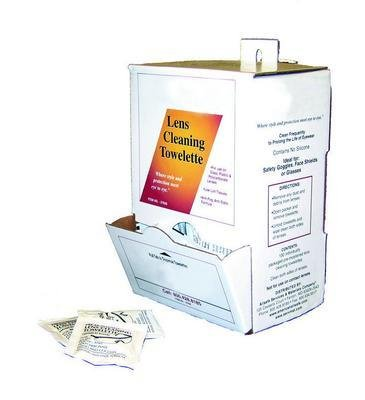 Jackson Safety 14551 Pre-moistened Lenses-Cleaning Towelettes, 100 Towelettes/Box (Pack of 10 Boxes)