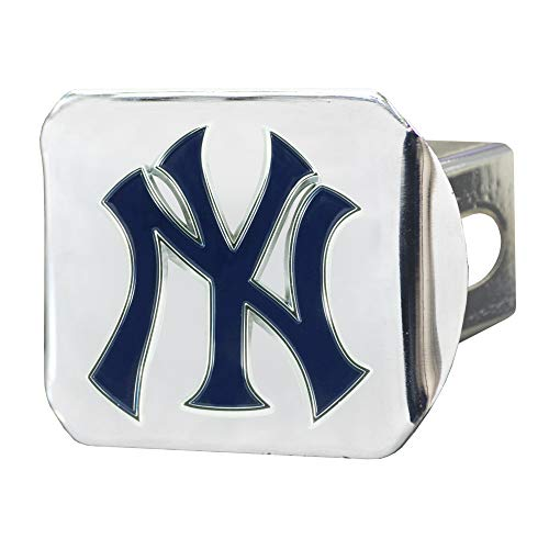 - FANMATS MLB - New York Yankees Color Hitch - Chrome
