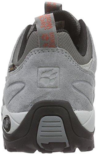Women Shoes Texapore Grey Hike Grapefruit 2037 Hiking Women's Wolfskin Rise Jack Low Vojo nzAIZwqx6