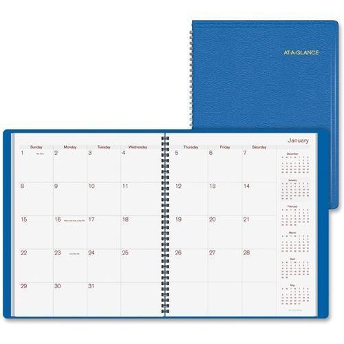 At-A-Glance Monthly Apptmt. Planner, Jan-Dec, Wirebound, 9