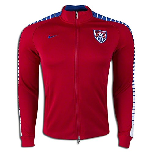 d5184d3d71 Nike N98 USA Authentic Track Soccer Jacket (Red) Medium