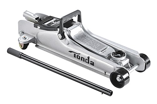 TONDA 2 Ton Low Profile Heavy Duty Garage Floor Jack, Rapid Pump Quick - Australia Profile Frames