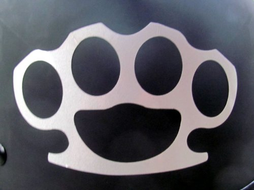 Reflective Brass Knuckles - 3 1/2