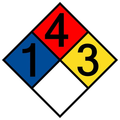 compliancesigns-vinyl-nfpa-704-hazmat-diamond-label-with-1-4-3-0-rating-10-x-10-in-multi-color