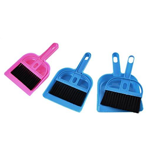 uxcell-plastic-computer-netbook-keyboard-cleaner-dustpan-brush-set-fuchsia-blue