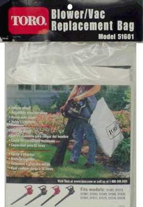 Toro Rake/Vac Replacement Bag Holds 1.5 Bushels