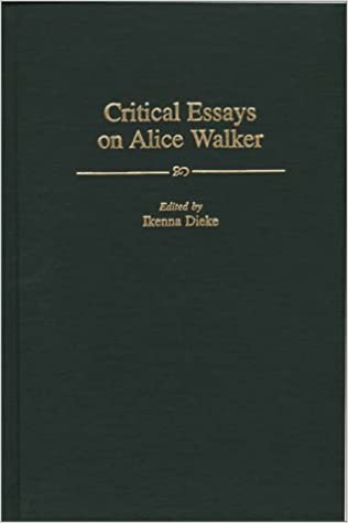 com critical essays on alice walker contributions in  critical essays on alice walker contributions in afro american and african studies