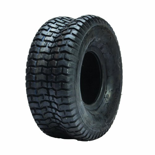Tread 2 Ply Tubeless Tire - Oregon 58-068 15X600-6 Turf Tread Tubeless Tire 2-Ply